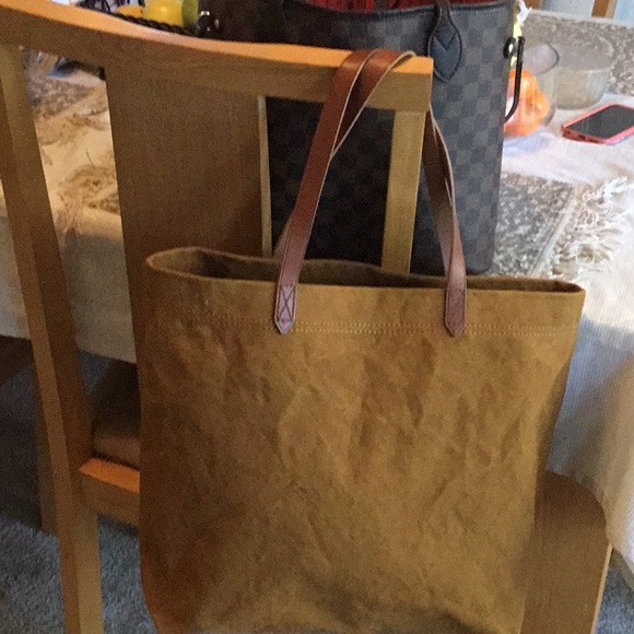 dd4d2726e Bags | Brand New Madewell Transport Tote In Canvas | Poshmark